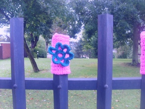 crochet in the park