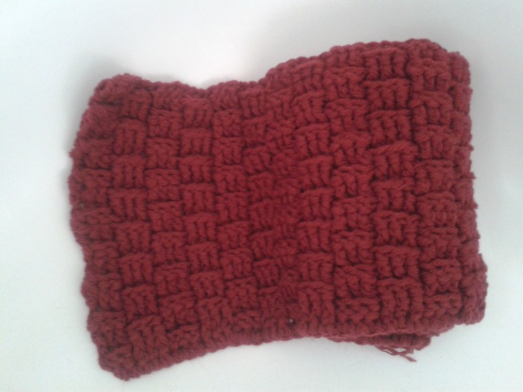 chilli pepper baby blanket