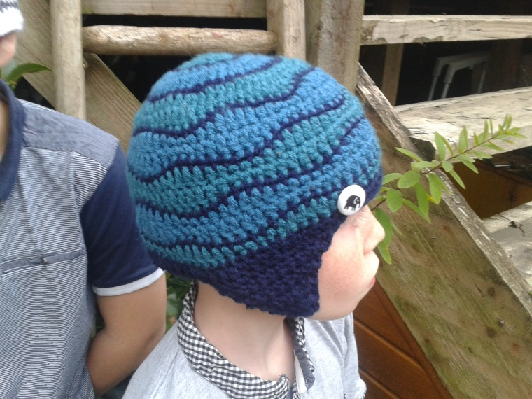 brainwave beanie with ear flaps