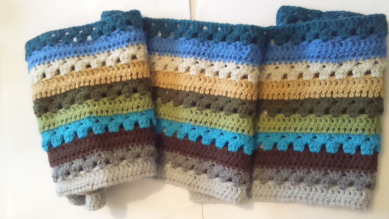 The 'his' cosy blanket by Lucy of Attic 24