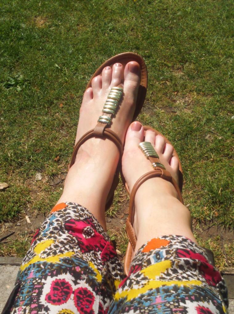 in the sun!