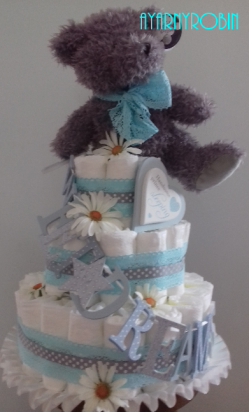 Sweet Dreams Diaper Cake