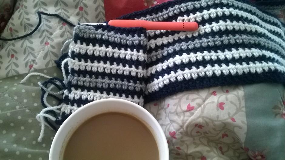 crochet blanket,