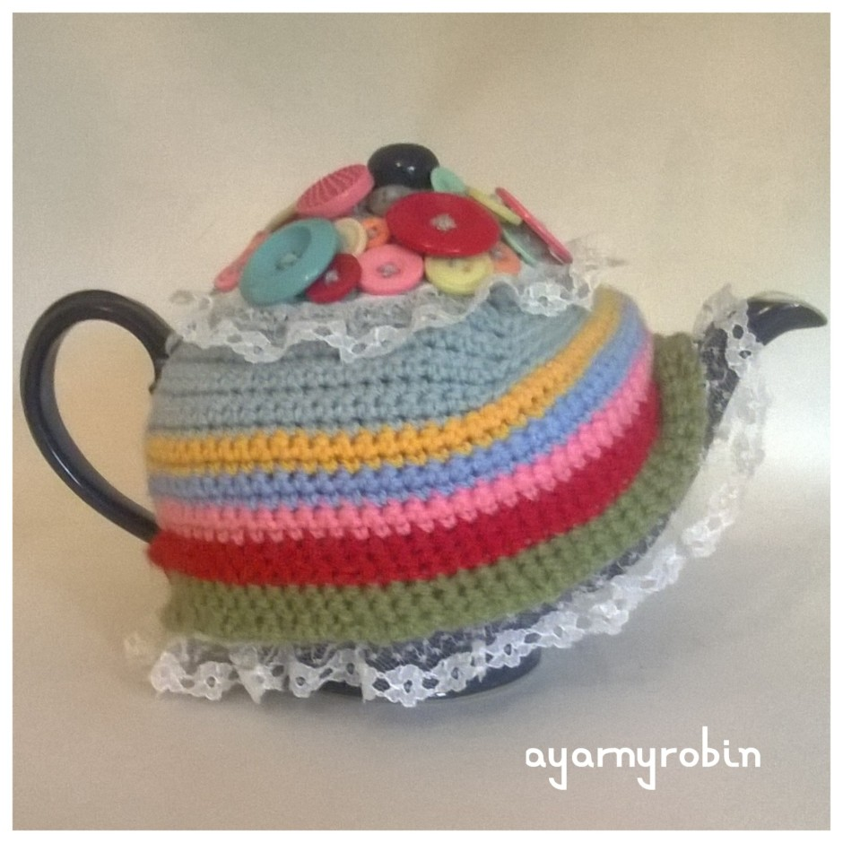 The grandma Mabel Tea Cosy, ayarnyrobin