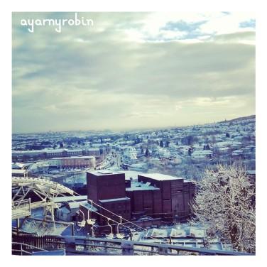 A snowy Midlands...