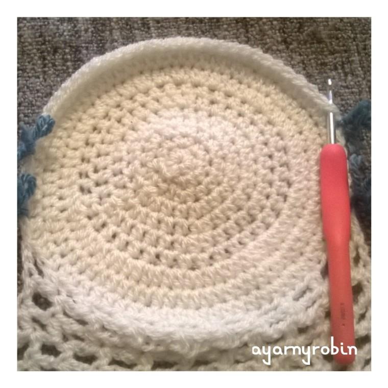 Grandma Florence tea cosy free pattern photo tutorial