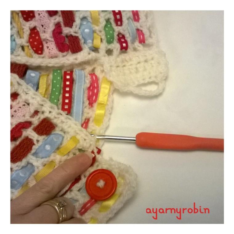 crochet tea cosy free pattren and tutorial
