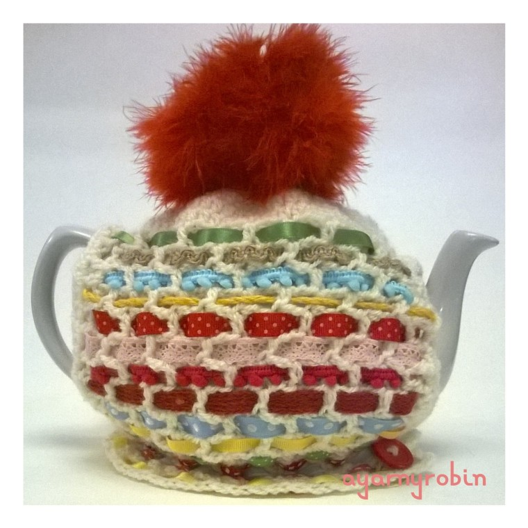 Crchet tea cosy free pattern and tutorial