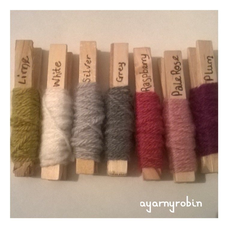 yarn pegs