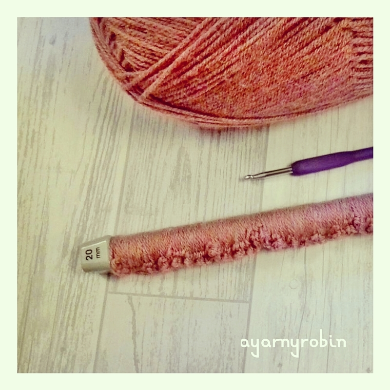broomstick crochet balnket