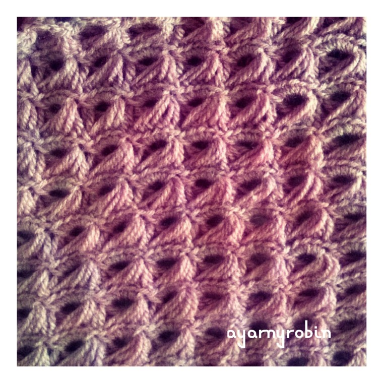 broomstick crochet blanket