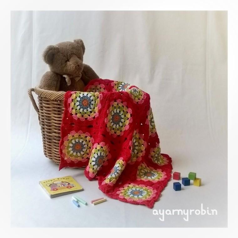 crochet baby balnket