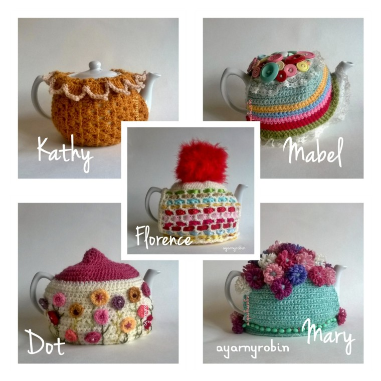 crochet tea cosy free patterns