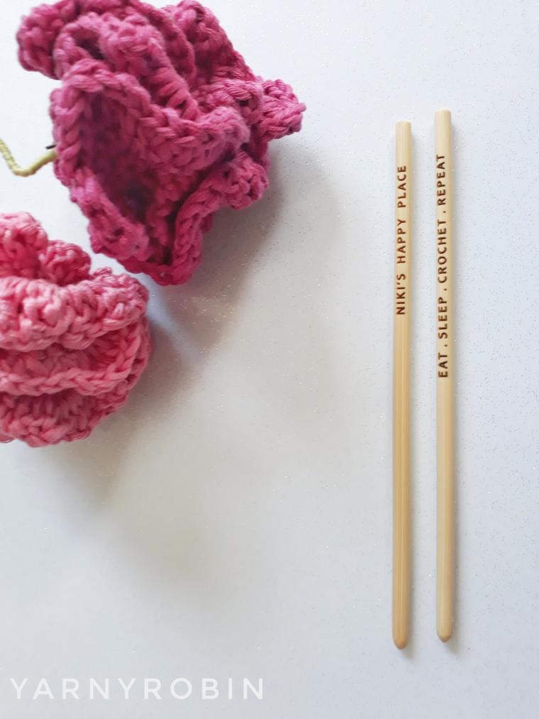 personalized crochet hooks