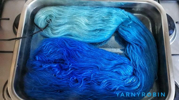 dip dyeing yarn
